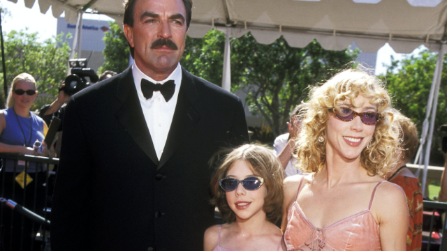 Tom Selleck with daughter Hannah Selleck and wife Jillie Joan Mack