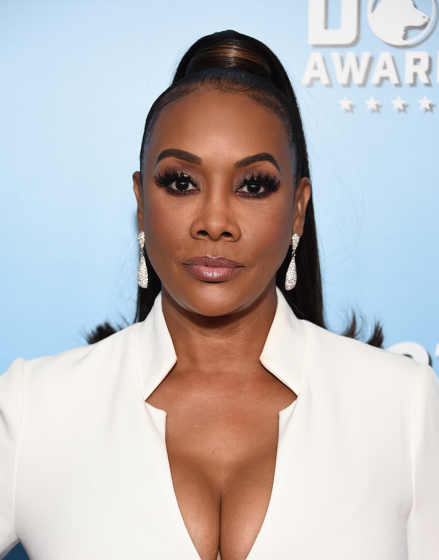 Vivica A. Fox at the American Humane Hero Dog Awards in 2019