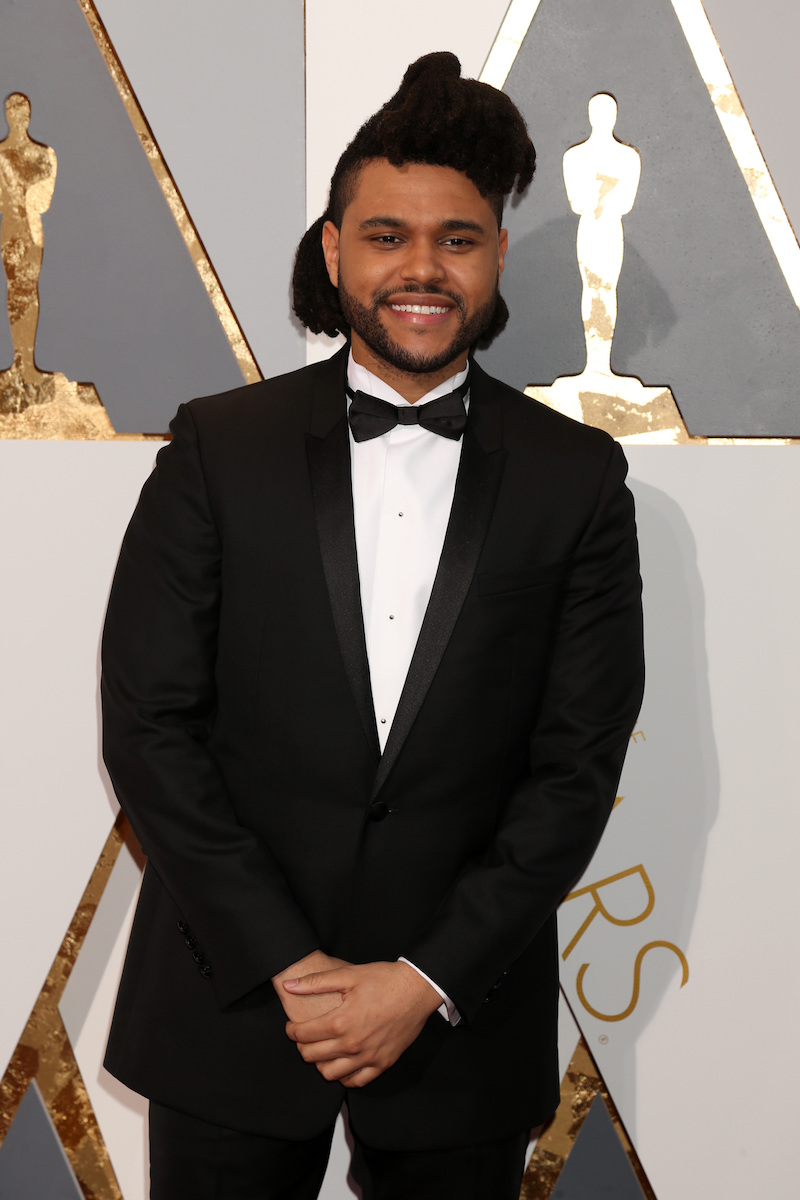 The Weeknd at the 2016 Oscars