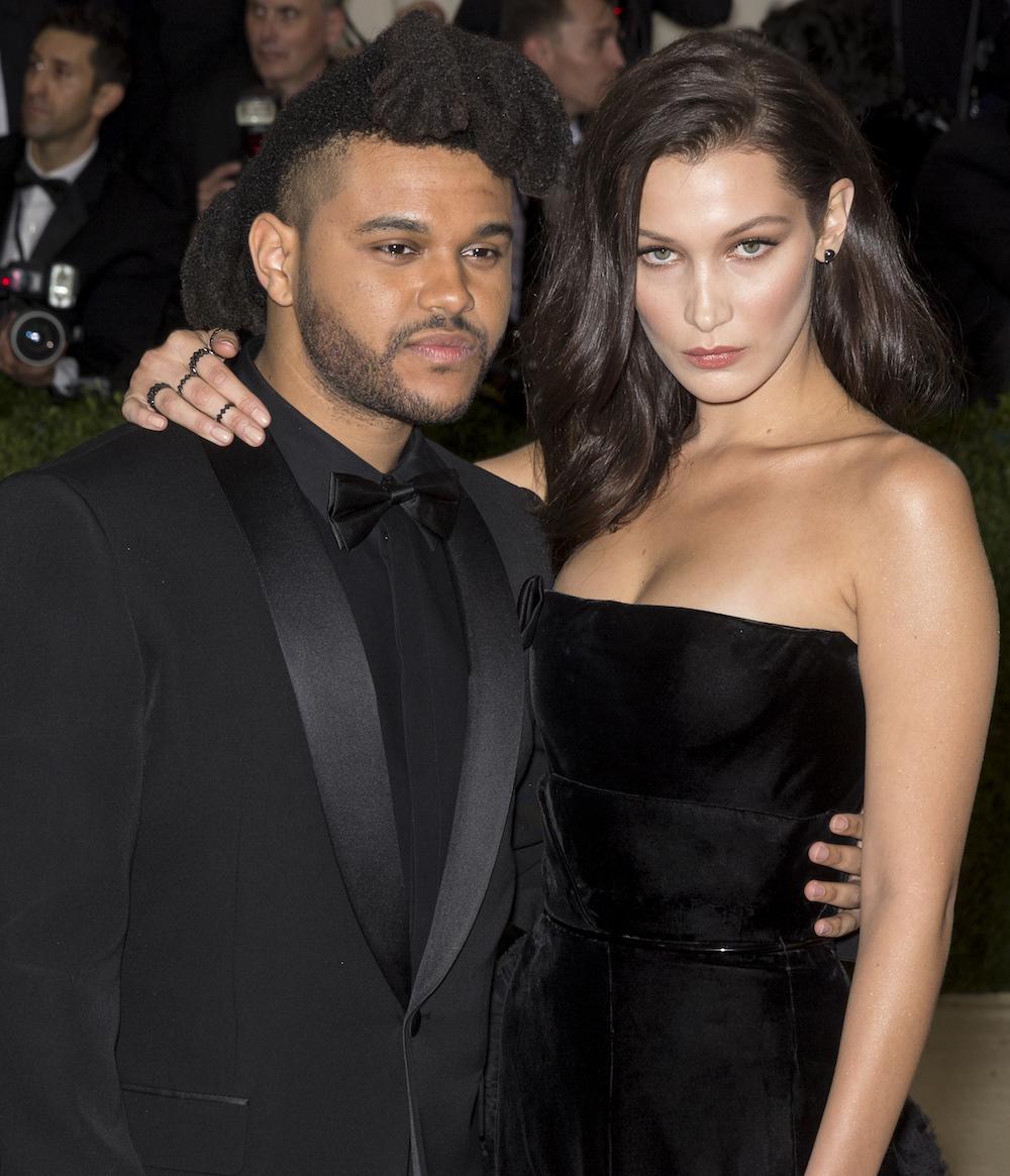 The Weeknd and Bella Hadid at the 2016 Met Gala