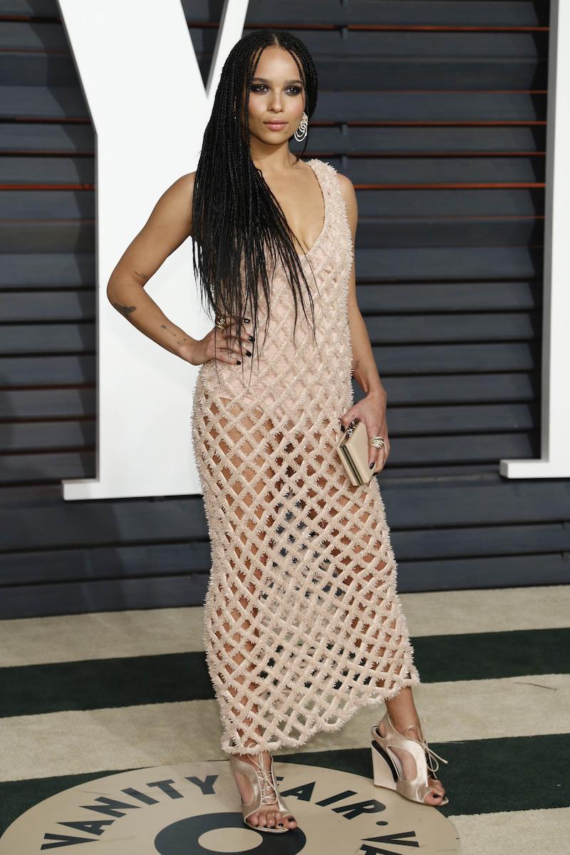 Zoë Kravitz at the 2015 Vanity Fair Oscar Party