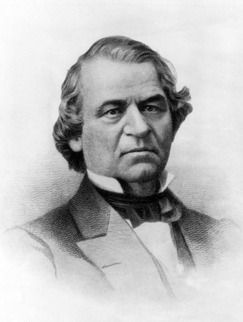 Andrew Johnson, 17th President, ca. 1860s.