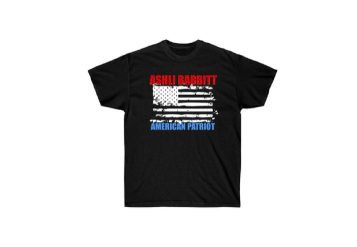 ashli babbitt t-shirts