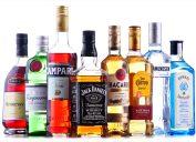 An assortment of liqur