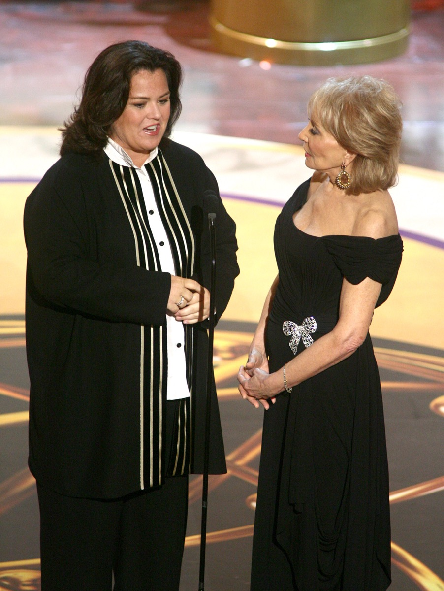 Barbara Walters and Rosie O'Donnelle 2006