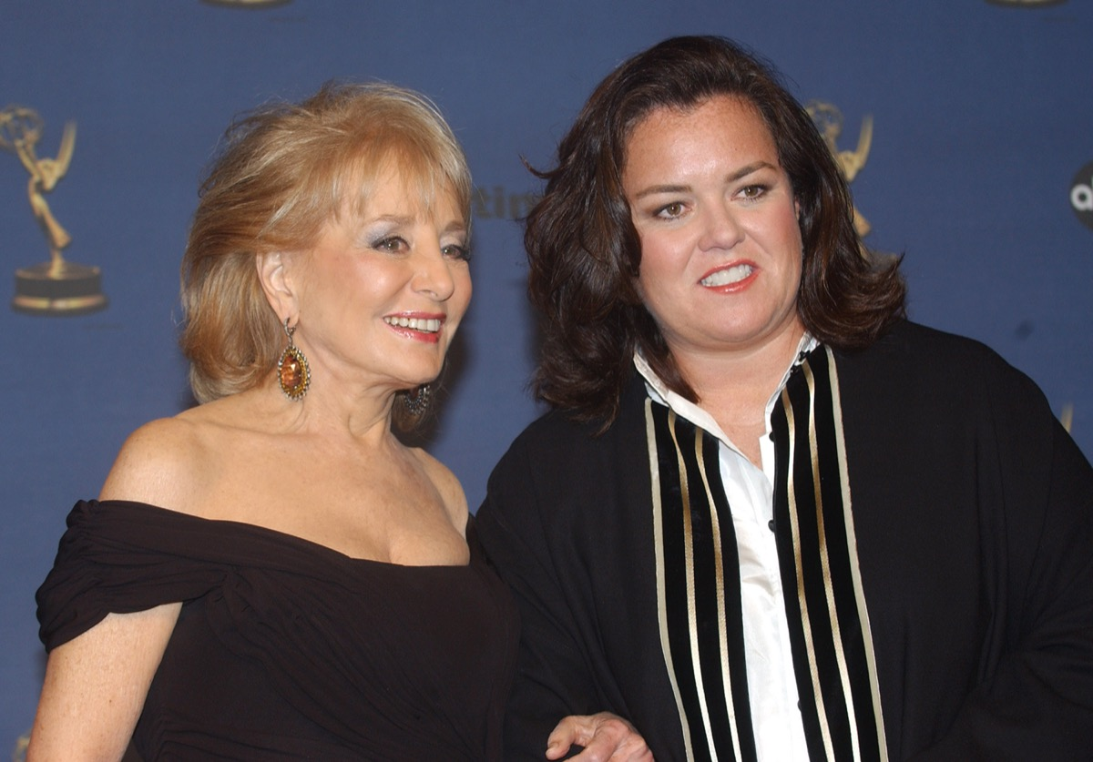 Rosie O'Donnell and Barbara Walters 2006