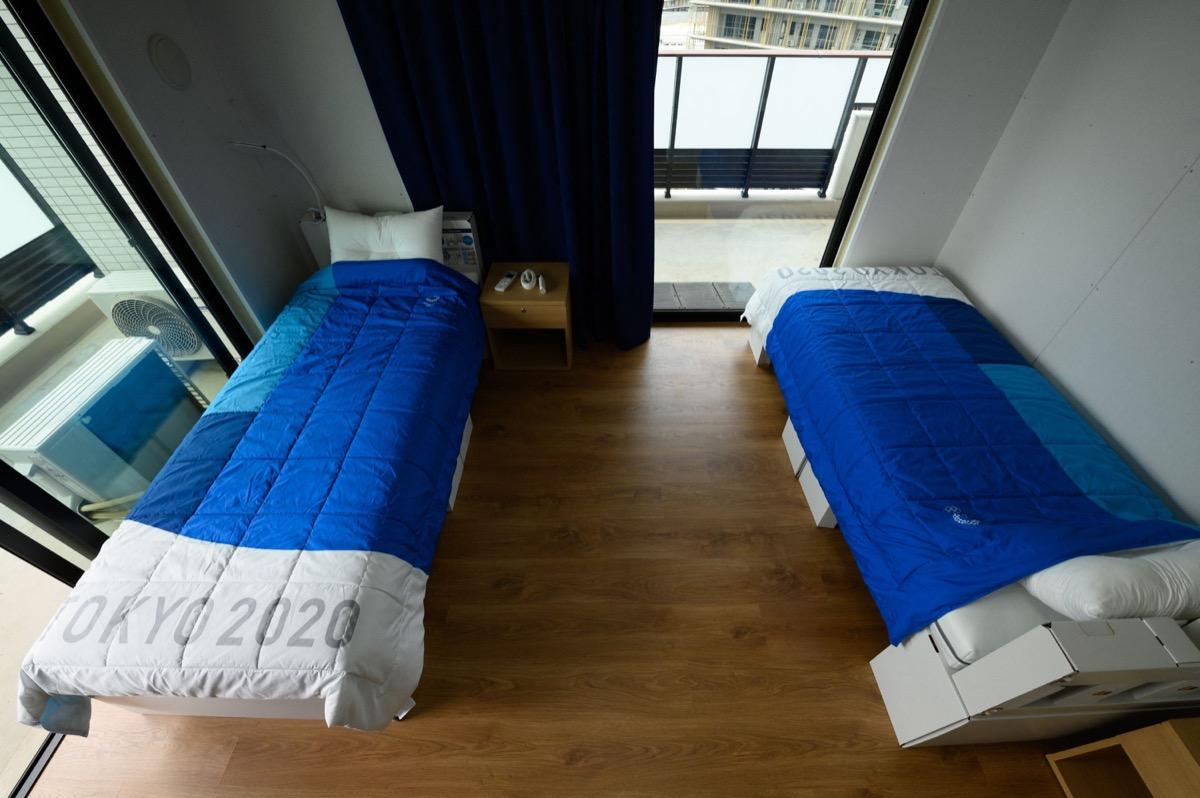 Olympics beds