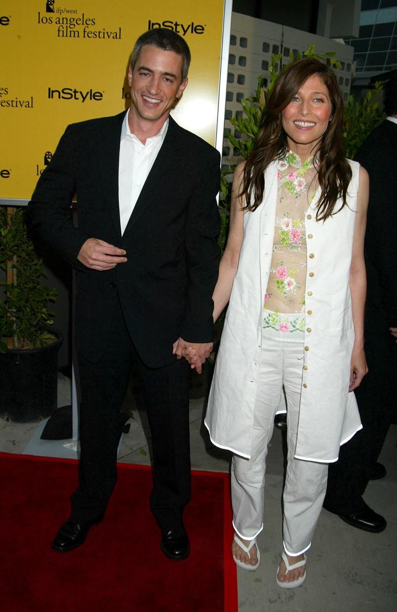 Catherine Keener and Dermot Mulroney in 2002