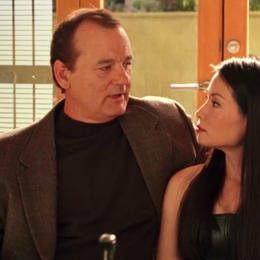 """Drew Barrymore, Bill Murray, Lucy Liu, and Cameron Diaz in """"Charlie's Angels"""""""