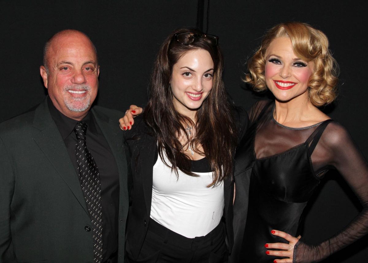Billy Joel, Alexa Ray Joel, and Christie Brinkley 2011