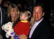 Bill Joel, Alexa Joel, and Christie Brinkley in 1988