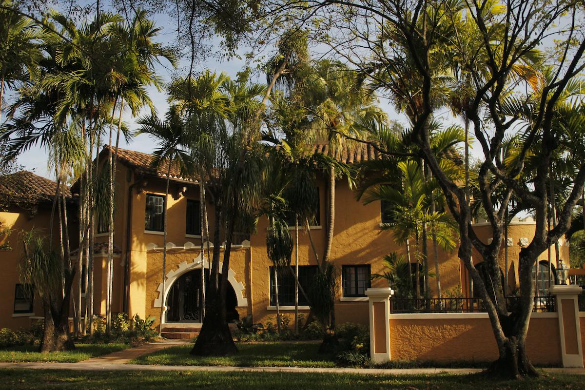 Classic architecture in Coral Gables, Miami
