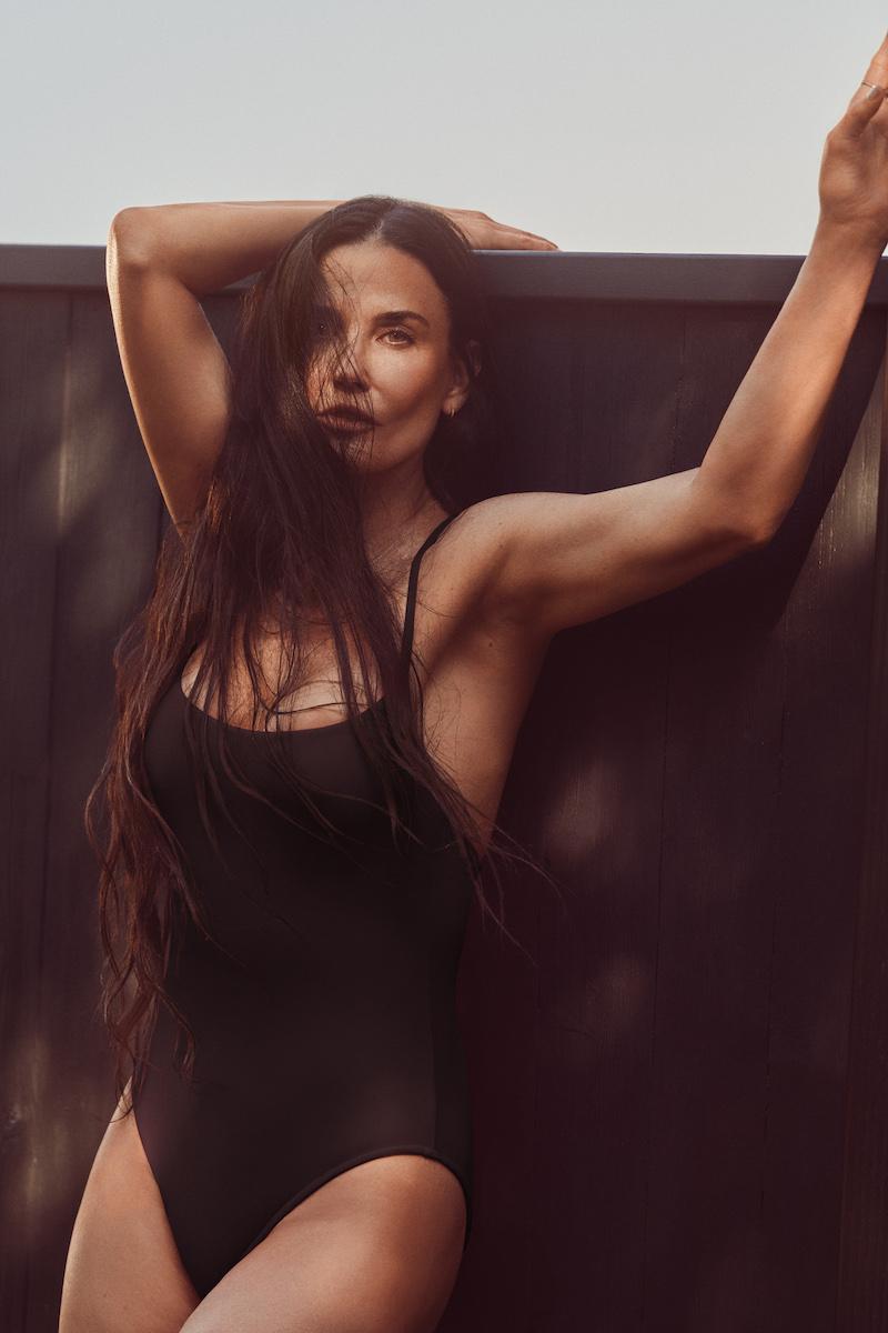 Demi Moore models Andie swimsuit