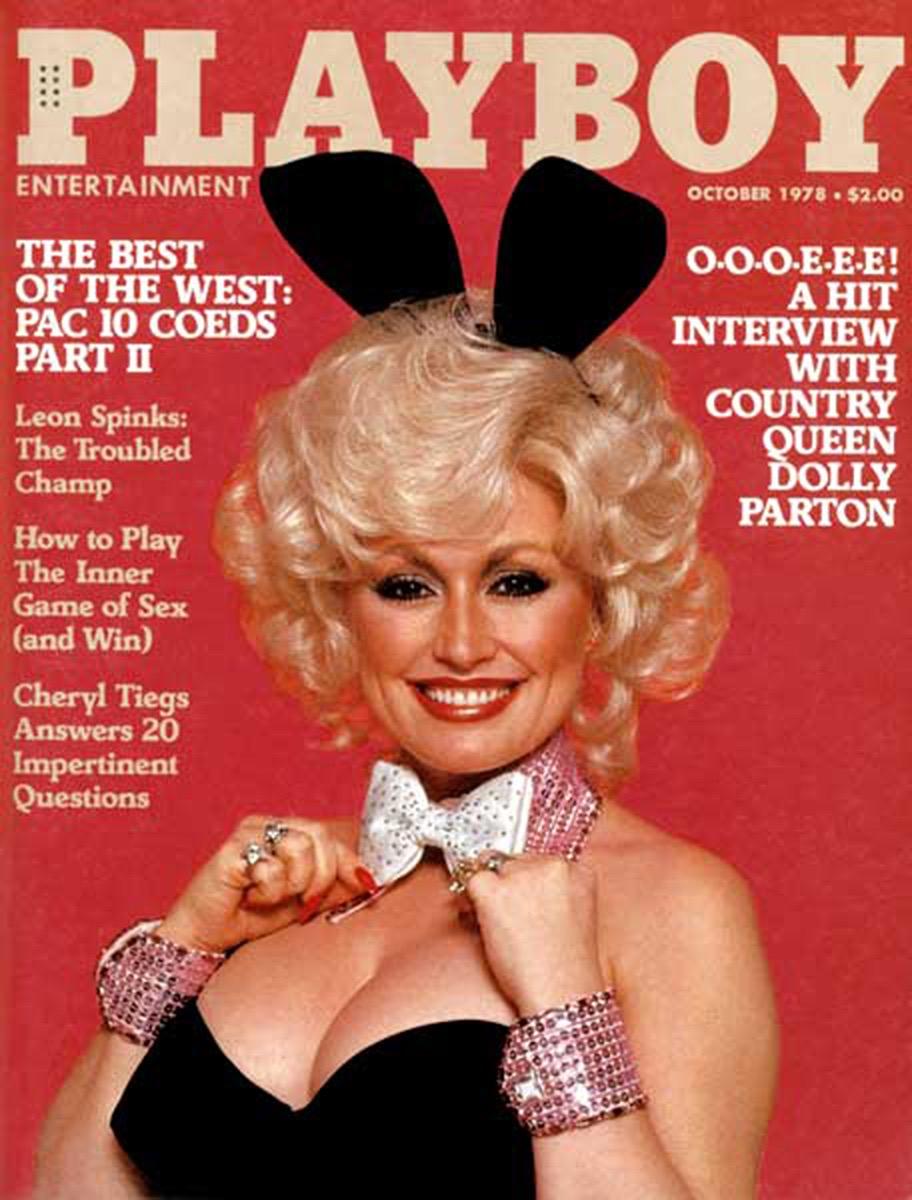 Dolly Parton playboy 1978 cover