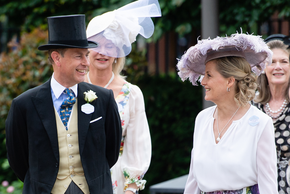 Sophie, Countess of Wessex and Prince Edward, Earl of Wessex attend Royal Ascot 2021 at Ascot Racecourse on June 16, 2021 in Ascot, England.