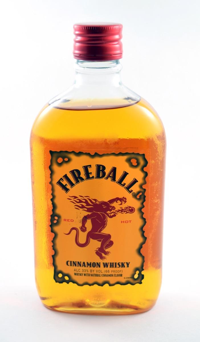 Bottle of Fireball