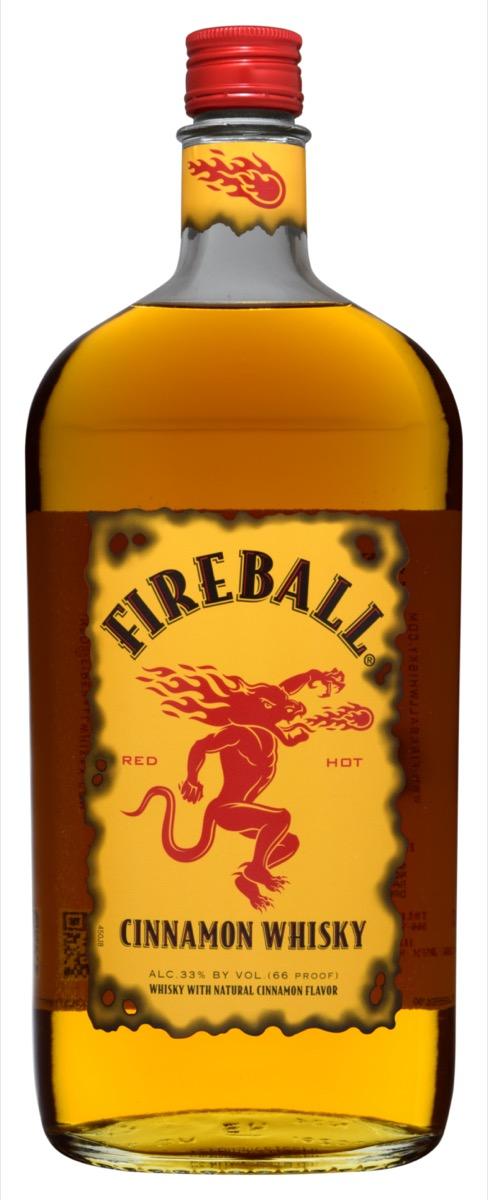 A liter of Fireball