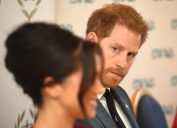 Meghan, The Duchess of Sussex and Prince Harry, Duke of Sussex attend a roundtable discussion on gender equality with The Queen's Commonwealth Trust (QCT) and One Young World at Windsor Castle
