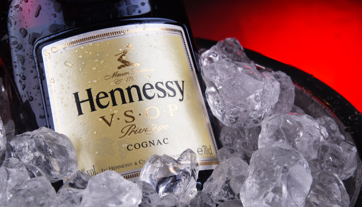 Hennessy on ice