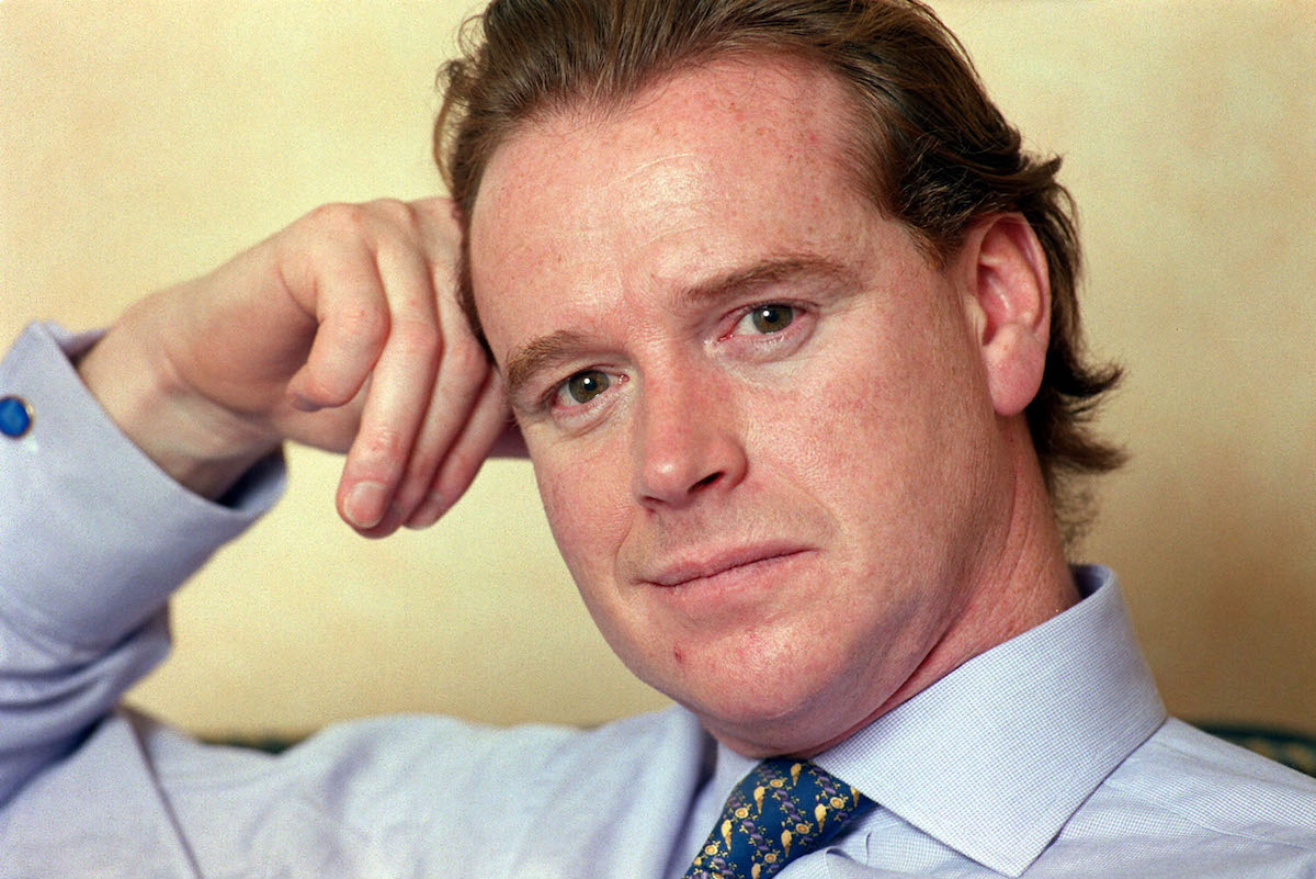 James Hewitt at his London home, claiming he first spoke publicly about his five-year affair with Diana, Princess of Wales, because she told him to.