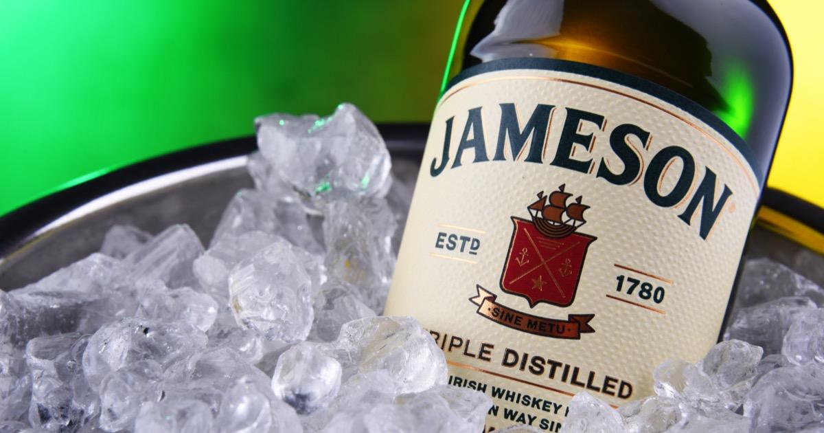 Jameson on ice