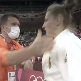 Judo Olympian Martyna Trajdos defends coach who slapped her face as part of pregame ritual