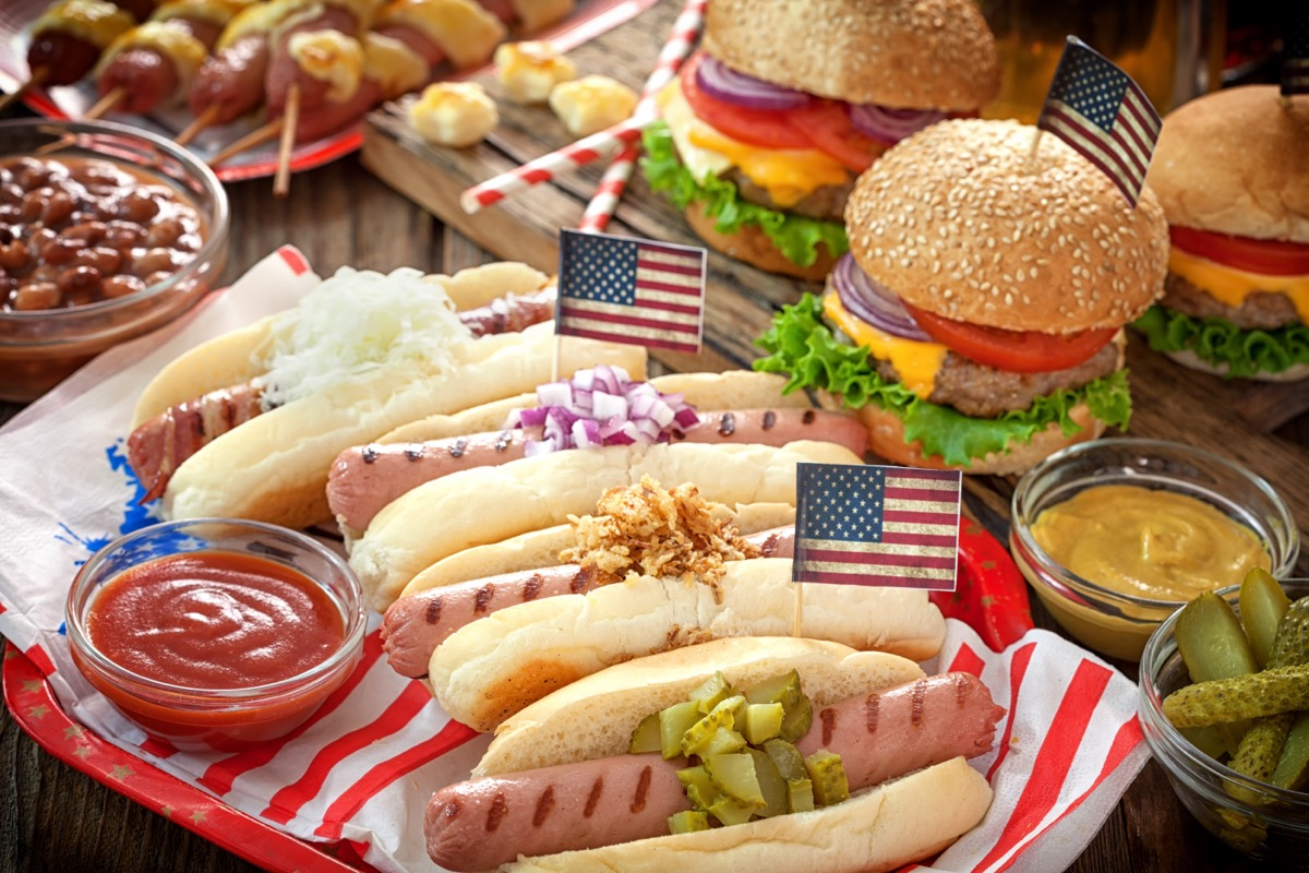 july 4th picnic foods