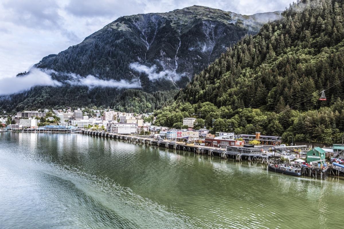 cityscape photo of Juneau, Alaska