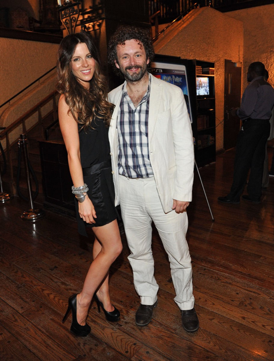 Kate Beckinsale and Michael Sheen in 2011