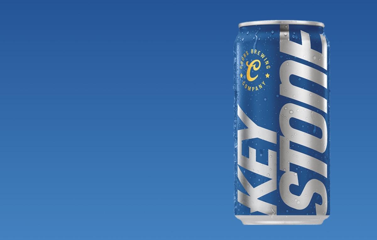 Keystone Light can