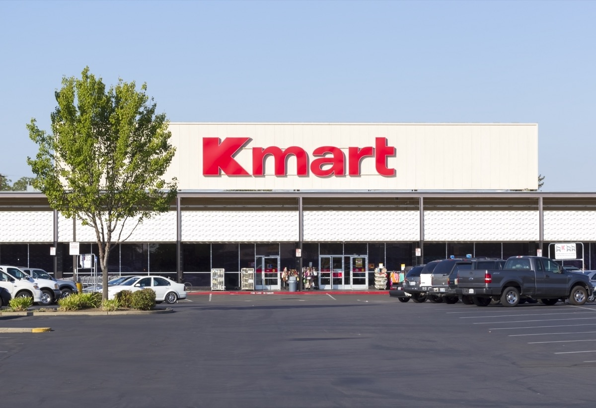 """Kmart store entrance on September 13, 2013 in Sacramento, California. Kmart is the third largest discount store chain in the world"""""""