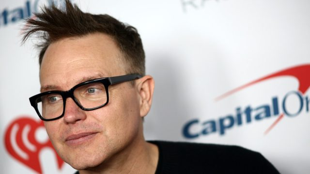Mark Hoppus of Blink 182 attends the iHeartRadio ALTer EGO Presented by Capital One at The Forum on January 18, 2020 in Inglewood, California.