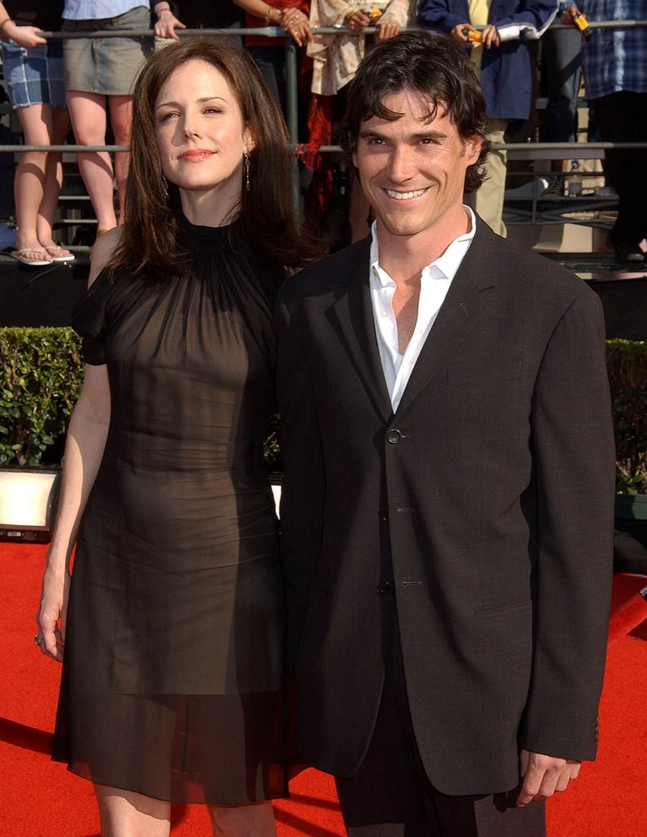 Mary Louise Parker and Billy Crudup in 2003