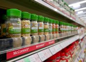 Variety of McCormick Organic Spices at Winco Foods in Mesa, Arizona.