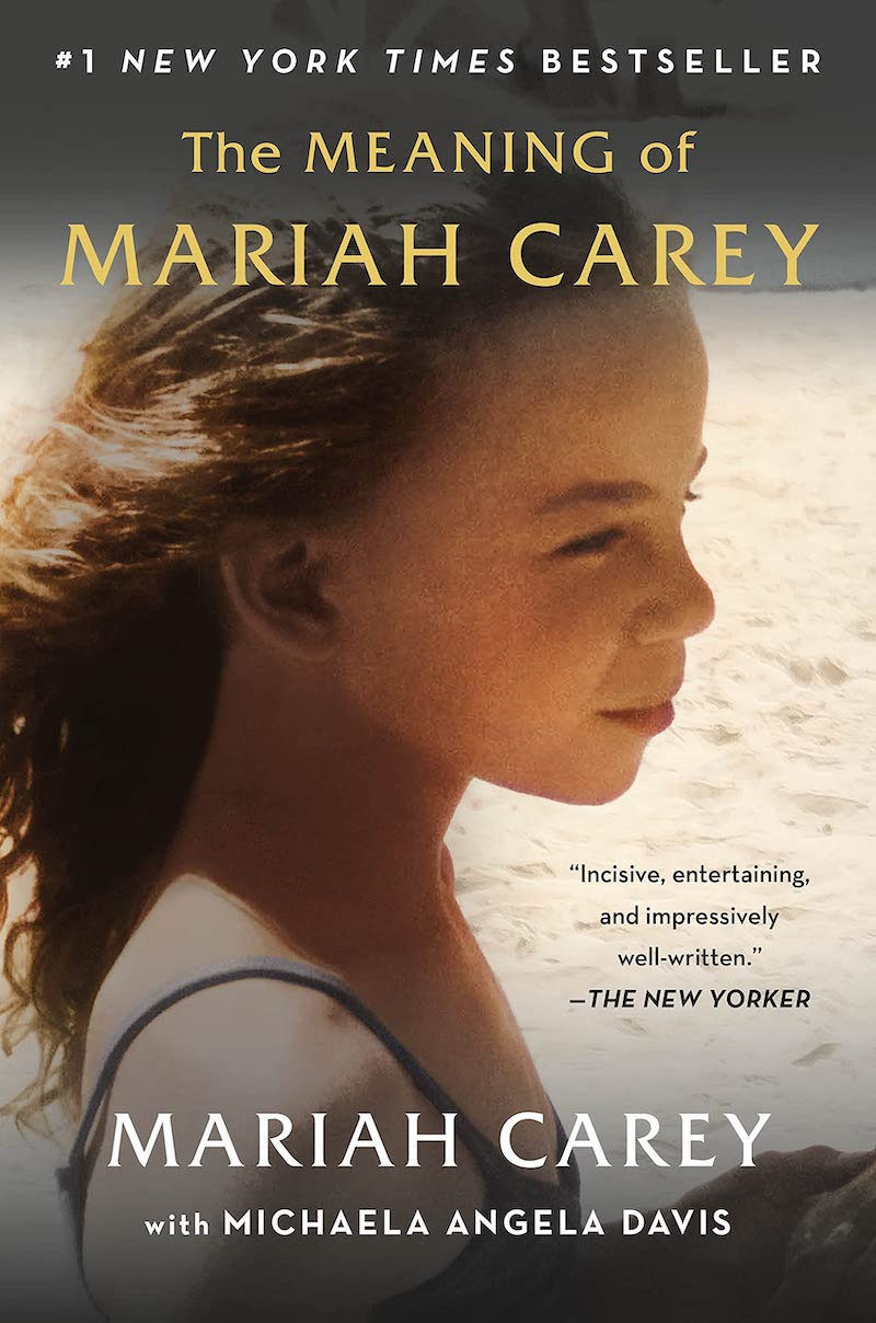 """""""The Meaning of Mariah Carey"""" paperback book cover"""