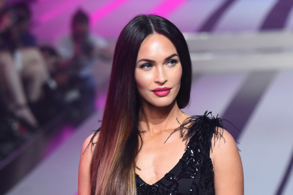 Actress Megan Fox is seen during the runway of the fashion show to show the collection Autumn/ Winter 2017 at Fashion Fest held at Fronton Mexico on September 07, 2017 in Mexico City, Mexico