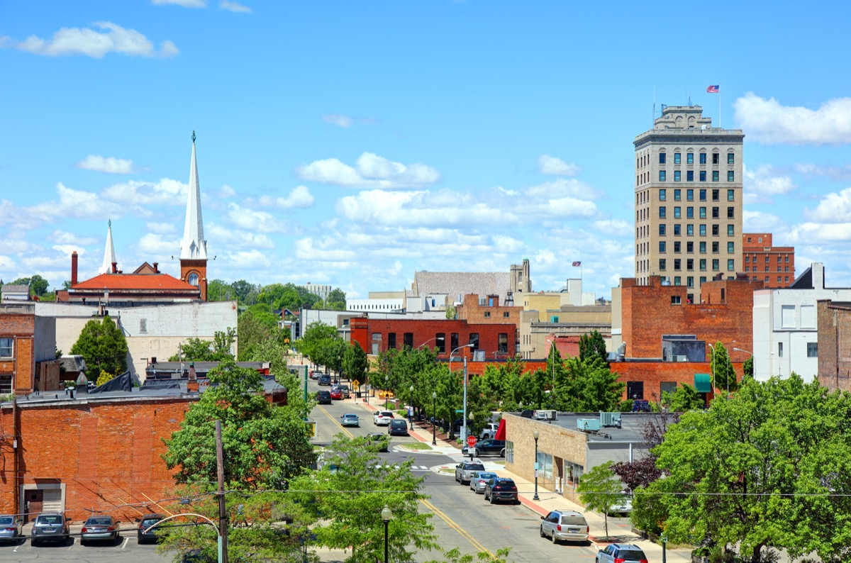 Jackson is a city in the south central area of the U.S. state of Michigan, about 40 miles west of Ann Arbor