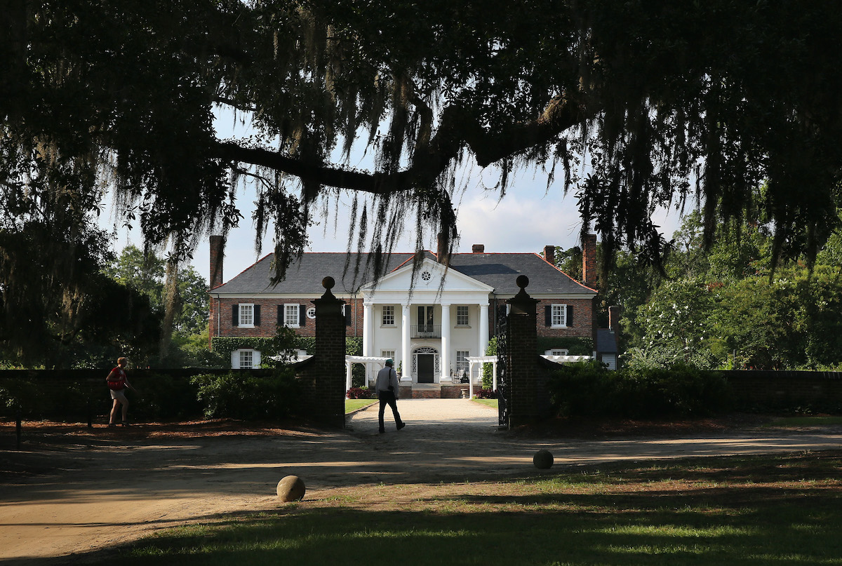 Boone Hill Plantation on July 16, 2015 in Mount Pleasant, South Carolina.