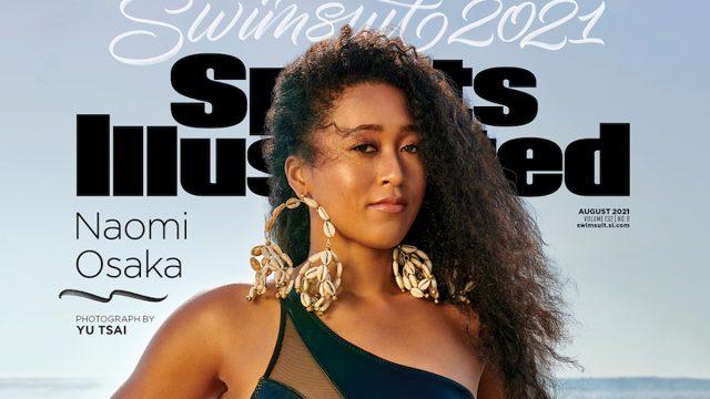 NAOMI OSAKA SI Swim cover; credit:  Yu Tsai/Sports Illustrated