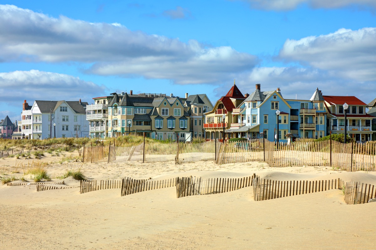 landscape photo of a beach in Ocean Grove, New Jersey