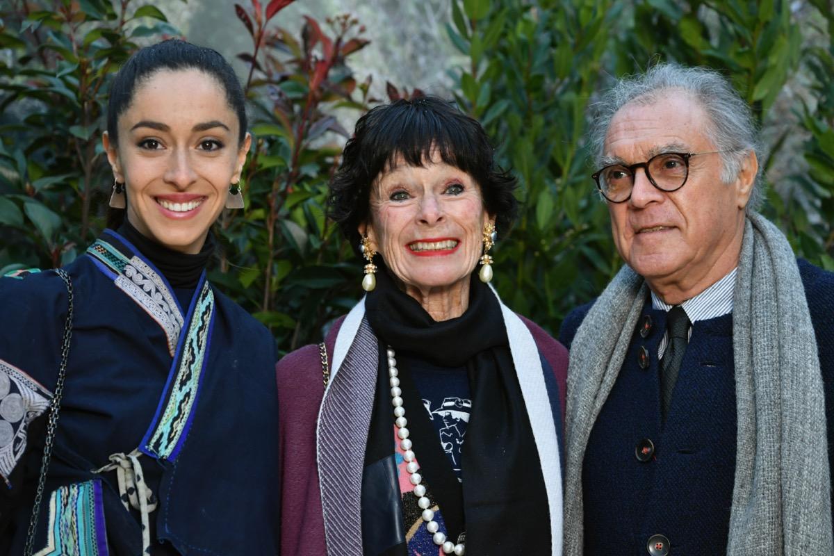 Oona Chaplin, Geraldine Chaplin and Patricio Castilla in 2019