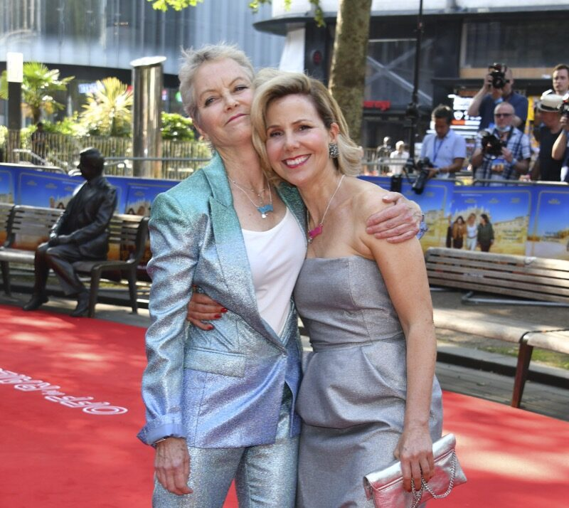 Sally Phillips and Jenny Seagrove