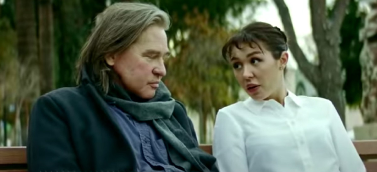 """Val and Mercedes Kilmer in """"Paydirt"""" movie"""