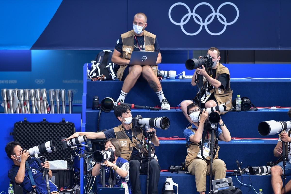 Olympics press