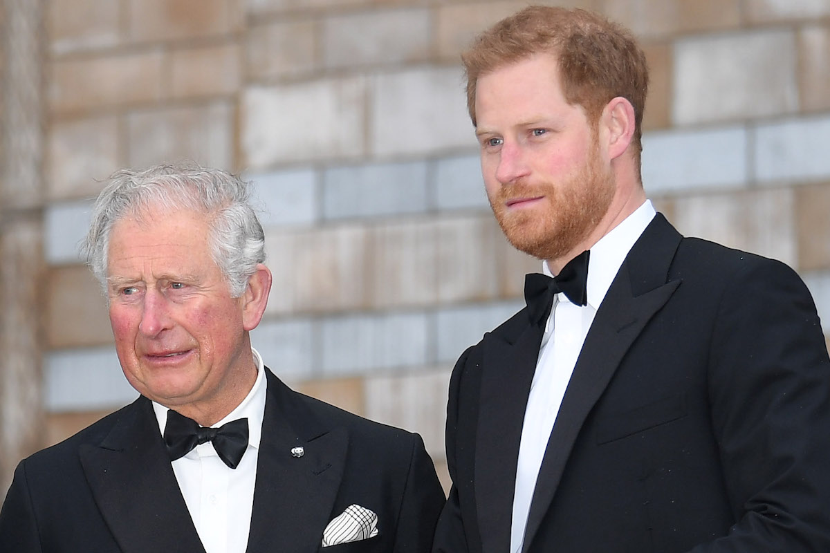 Prince Charles, Prince of Wales, and Prince Harry, Duke of Sussex