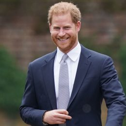 Prince Harry, Duke of Sussex arrives for the unveiling of a statue he and Prince William commissioned of their mother Diana, Princess of Wales, in the Sunken Garden at Kensington Palace, on what would have been her 60th birthday on July 1, 2021 in London, England.