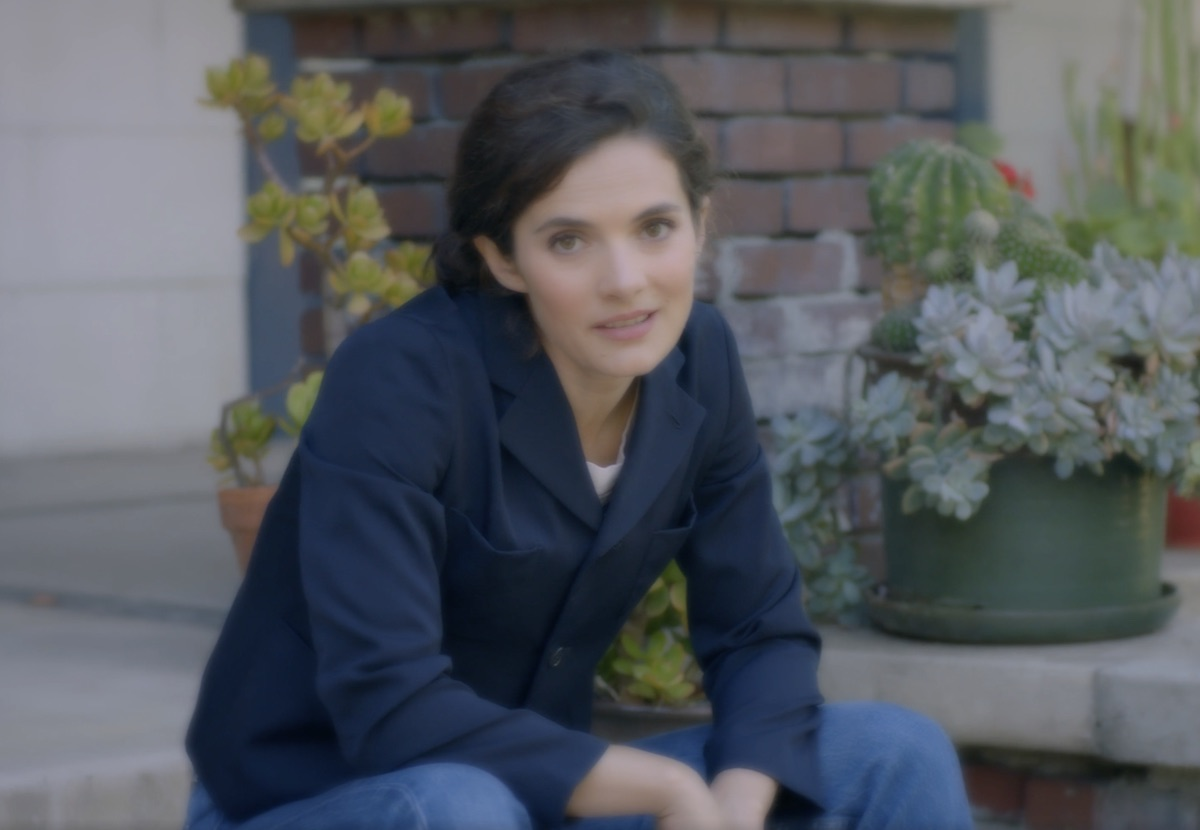 Rose Schlossberg in Get out the vote video