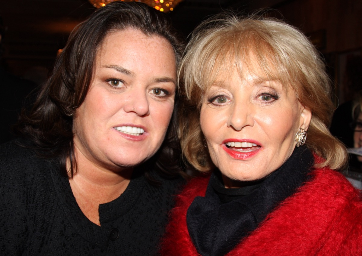 Barbara Walters and Rosie O'Donnell 2008