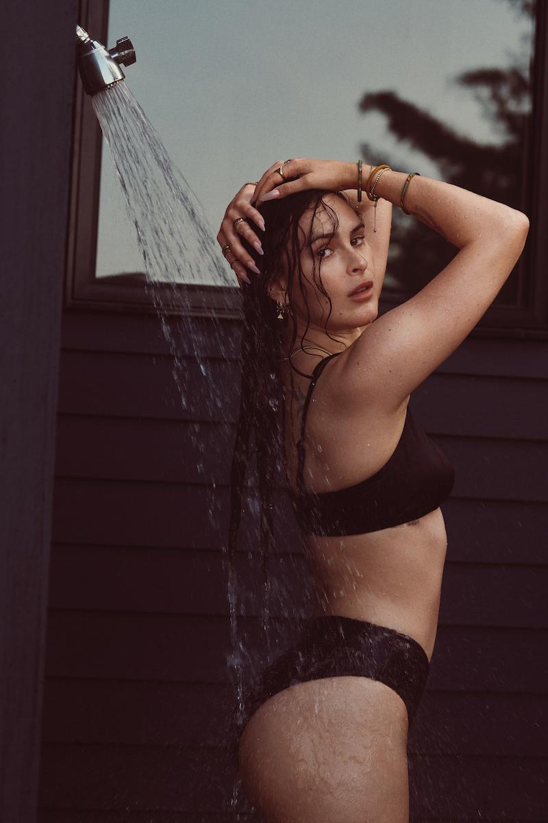 Rumer Willis models Andie swimsuit