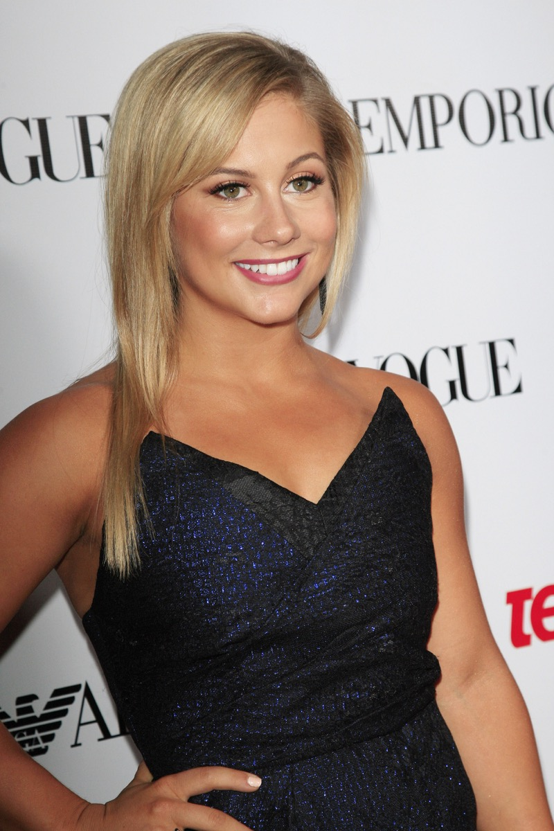BEVERLY HILLS - SEP 27: Shawn Johnson at the Teen Vogue's 10th Anniversary Annual Young Hollywood Party on September 27, 2012 in Beverly Hills, California